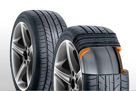 C'est quoi un pneu Run Flat ?